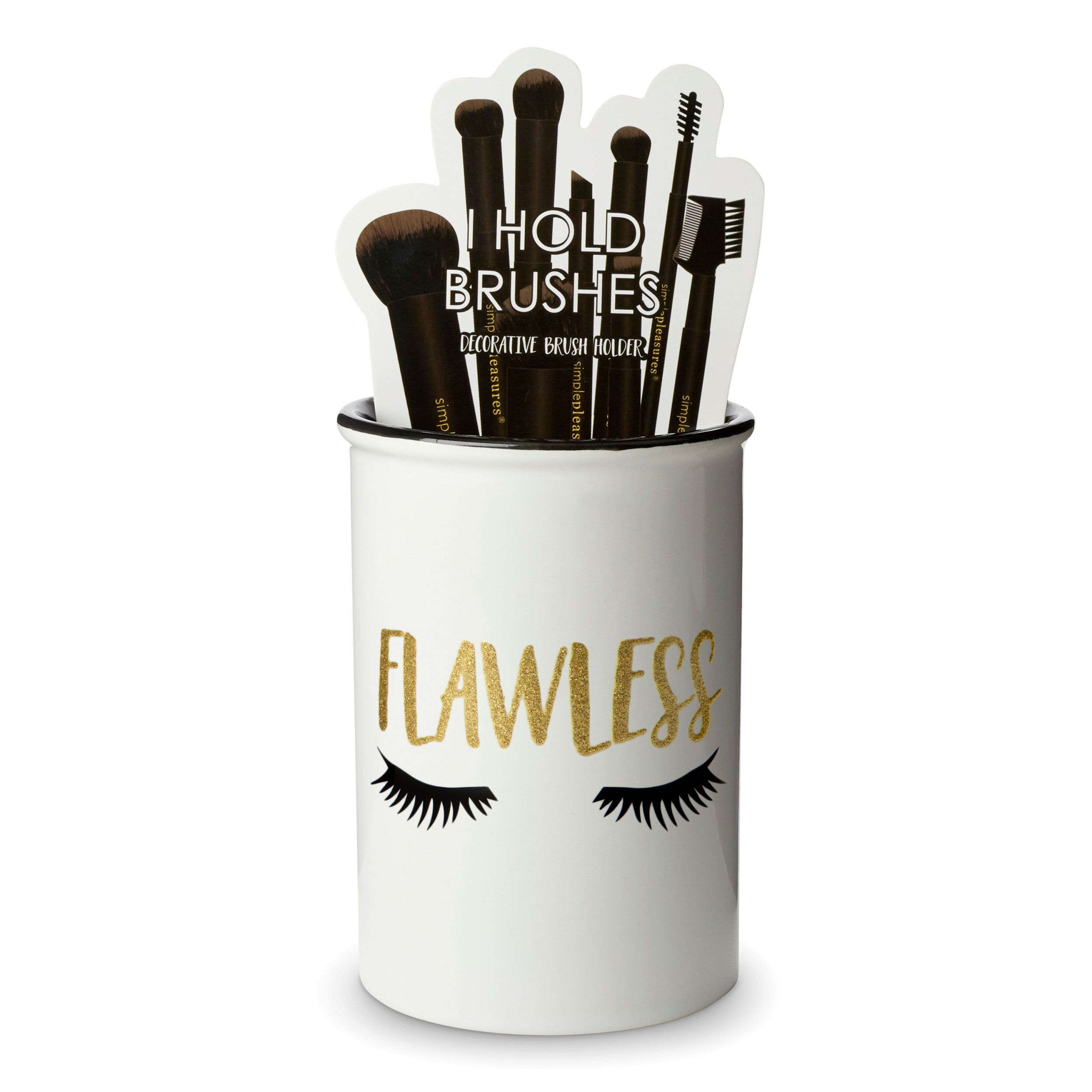 Makeup Brush Holder Flawless Ceramic brush, Makeup