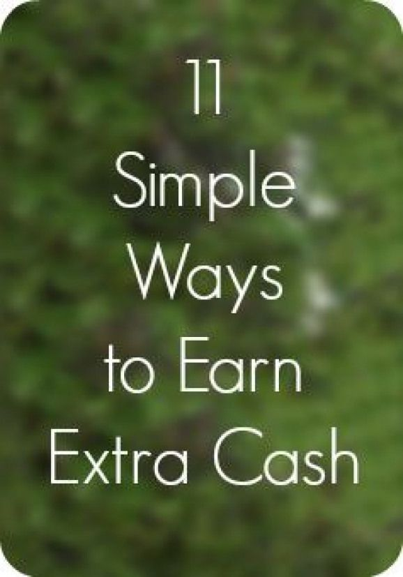 Quick ways to earn a little bit of extra cash when youre getting out of debt