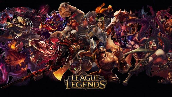 League Of Legends Red Champions Wallpaper Rikkutenjouss Hd