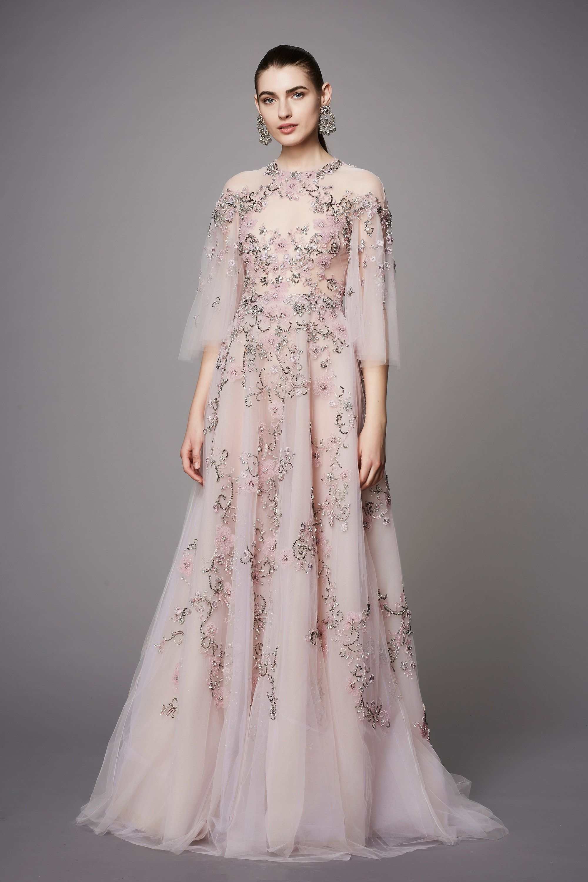 41ba8393aa Marchesa Pre-Fall 2017 Fashion Show in 2019 | dress to kill | Marchesa gowns,  Dresses, Fashion
