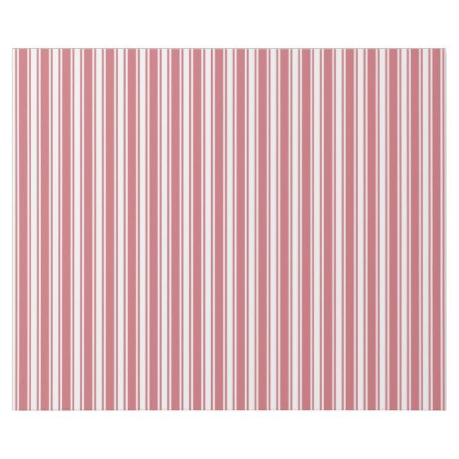 Valentine Pink Stripe Pattern Motif Winter Wrapping Paper