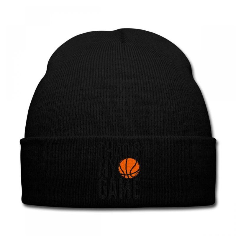 thats my game embroidery Knit Cap