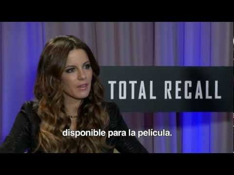 Kate Beckinsale habla sobre Total Recall en entrevista con Alex Medela