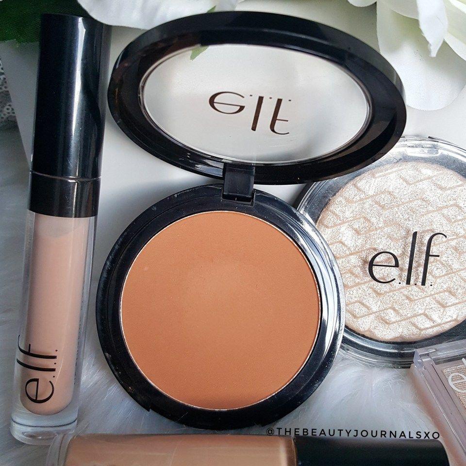 New ELF Makeup Haul and Reviews Makeup haul, Elf makeup