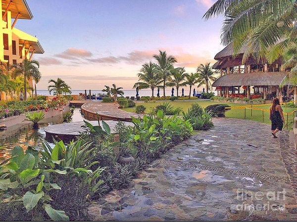 Philippines Poster featuring the photograph Bellevue Resort Panglao Island Philippines by Kay Novy #poster #vacation #Bellevue #resort #Panglao #Island #Philippines #photography #KayNovy #kkphoto1