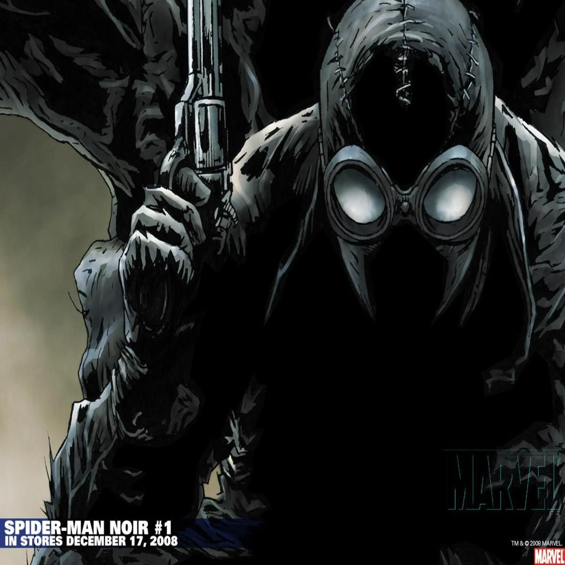 Spiderman Noir Wallpaper Ref Pinterest Spiderman Marvel And
