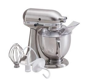 Kitchen Aid Custom Metallic® Series; Tilt Head Stand Mixer; Flour Power™