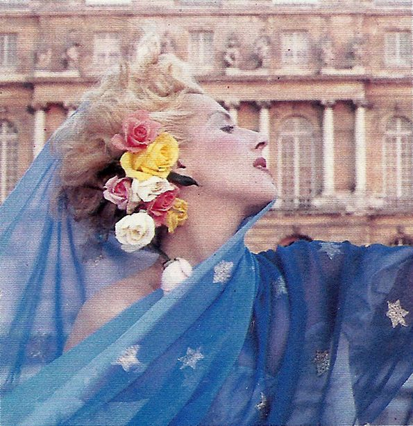 1986 - Dauphine de Jerphanion in Thierry Mugler  by Thierry Mugler for Avenue
