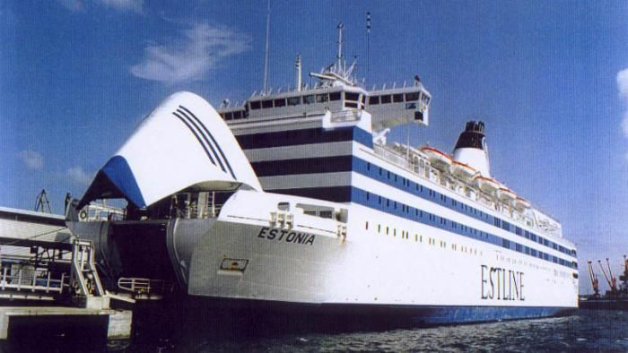 The Sinking Of The Ferry Vessel Ms Estonia In The Baltic Sea Is An