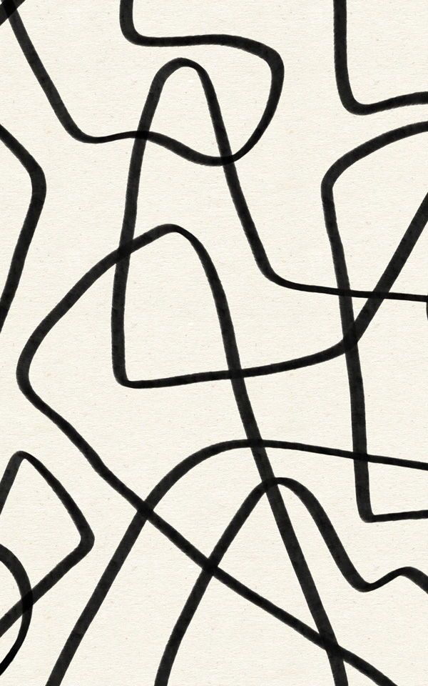 If You Love Abstract And Intriguing Design Look No Further Than The Black And Beige Cool Doodle Abstract Wallp Abstract Wallpaper Cool Doodles Mural Wallpaper Black and white abstract wallpaper