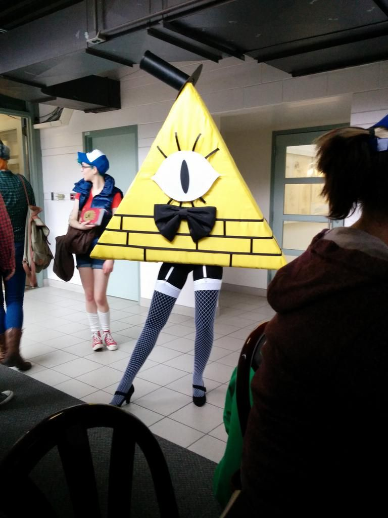 Bill Cipher Pretty Gravity Falls Cosplay Gravity