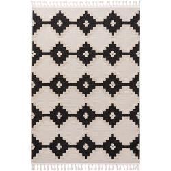 benuta Kurzflor Teppich Oyo Cream/Anthrazit 80x150 cm - Moderner Teppich für Wohnzimmer benuta #peinturesalontendance