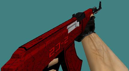 Pin On Counter Strike 1 6 Skin Pack Knife Deagle Ak47 M4a1 Awp Crimson