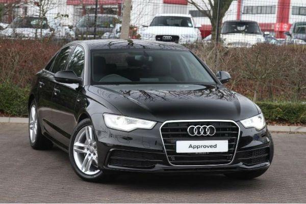 Audi A6 S Line 2015 Black