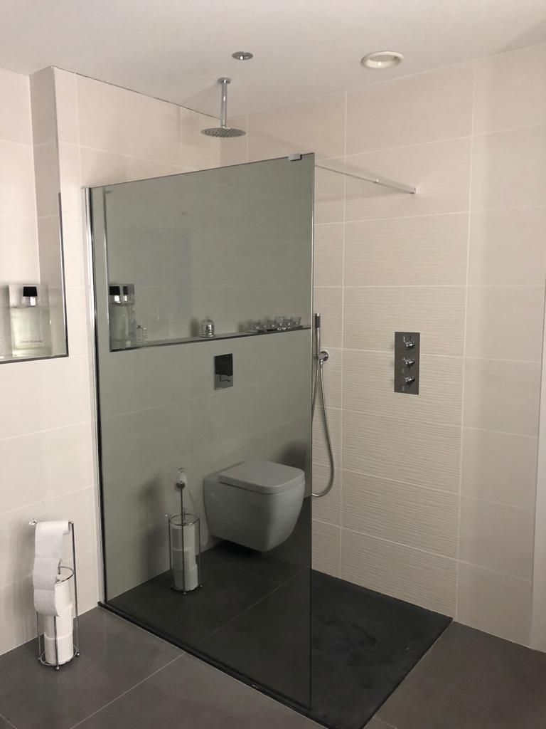 shower and tiles fully suppliedbathshack
