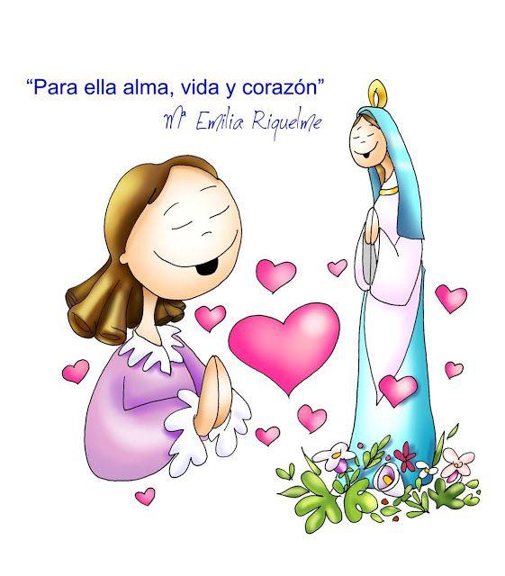 Virgen Maria Ruega Por Nosotros Imagenes De Mayo Mes De Maria Bible Crafts Don Bosco Bible Crafts For Kids