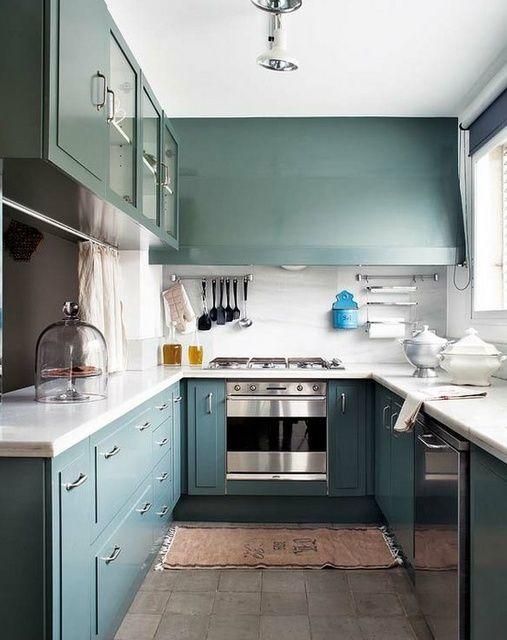 Kleine Quadratische Küchen Design | Küche | Pinterest | quadratische ...