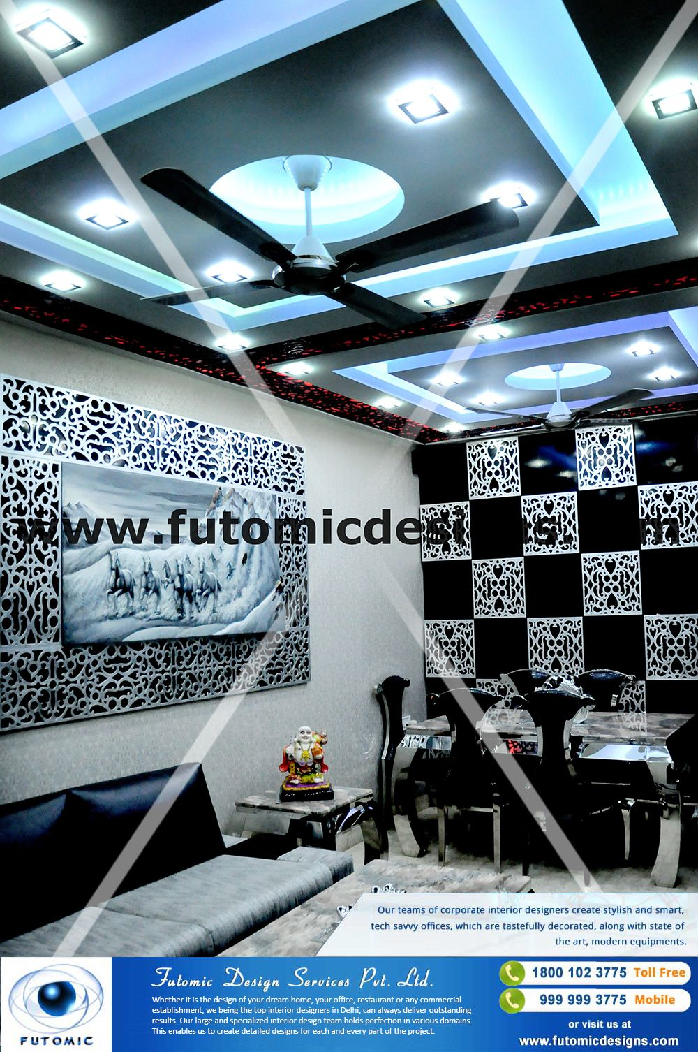 Whether it is the design of your dream home office restaurant or any also pin by futomic services pvt ltd on expert interior rh in pinterest