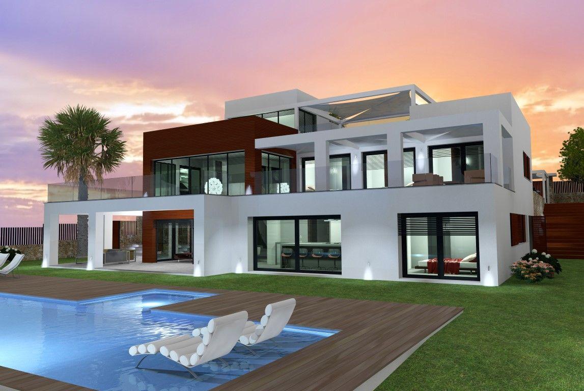 Ultramoderne design villa in jávea gelegen op een unieke locatie eerste lijn aan zee en op
