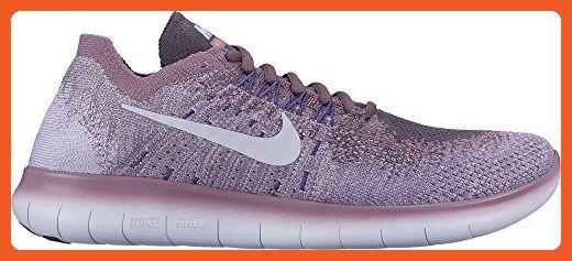Nike Wmns Nike Free Rn Flyknit 2017 Sz 9.5 Womens Running Dark  Raisin/Palest Purple