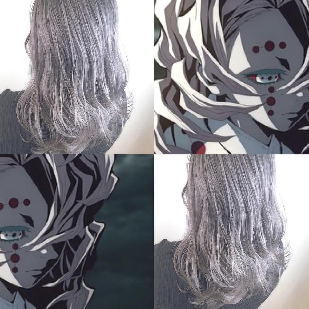 髪型 髪色 ヘアカラー ヘアスタイル 透明感 小顔 グラデーションカラー インナーカラー ブラウン ベージュ グレージュ アニメ Anime キャラクター Character 鬼滅の刃 髪 色 ヘアカラー カラフルヘア