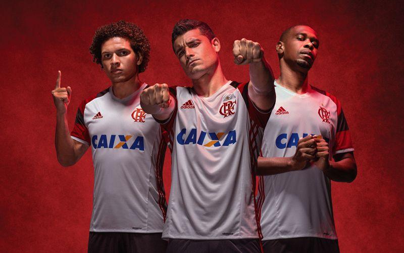 Camisa reserva do Flamengo 2016-2017 Adidas  eda2d853a5964