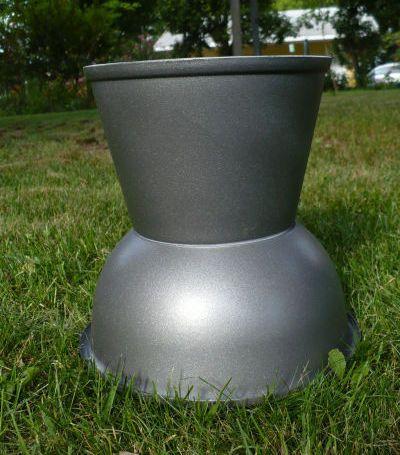 Make A Plastic Bowl Urn Planter Urn Planters Diy 400 x 300