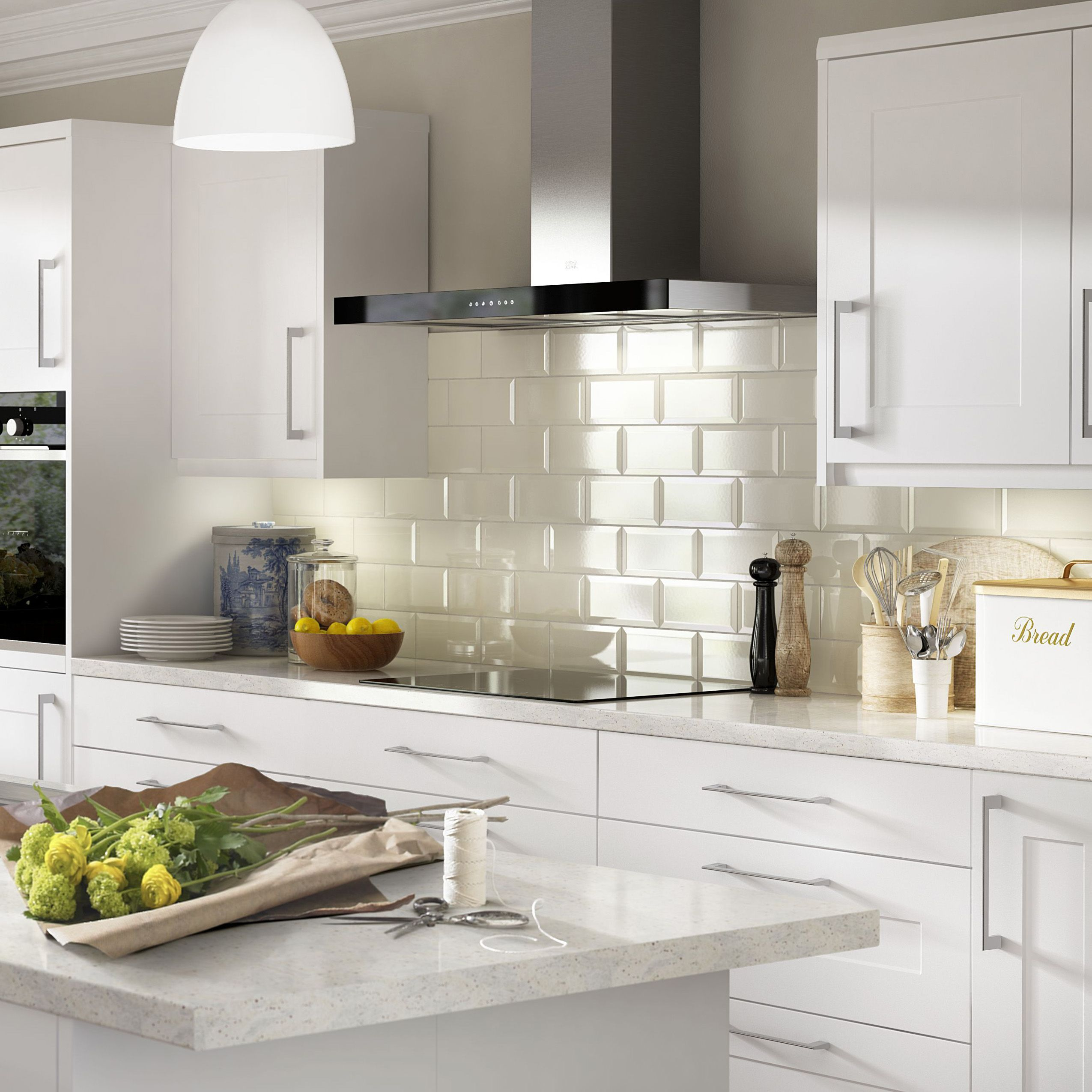 Colours Tiling Banner Image  Kitchen Revamp  Pinterest  Color Alluring Kitchen Wall Tile Design Ideas