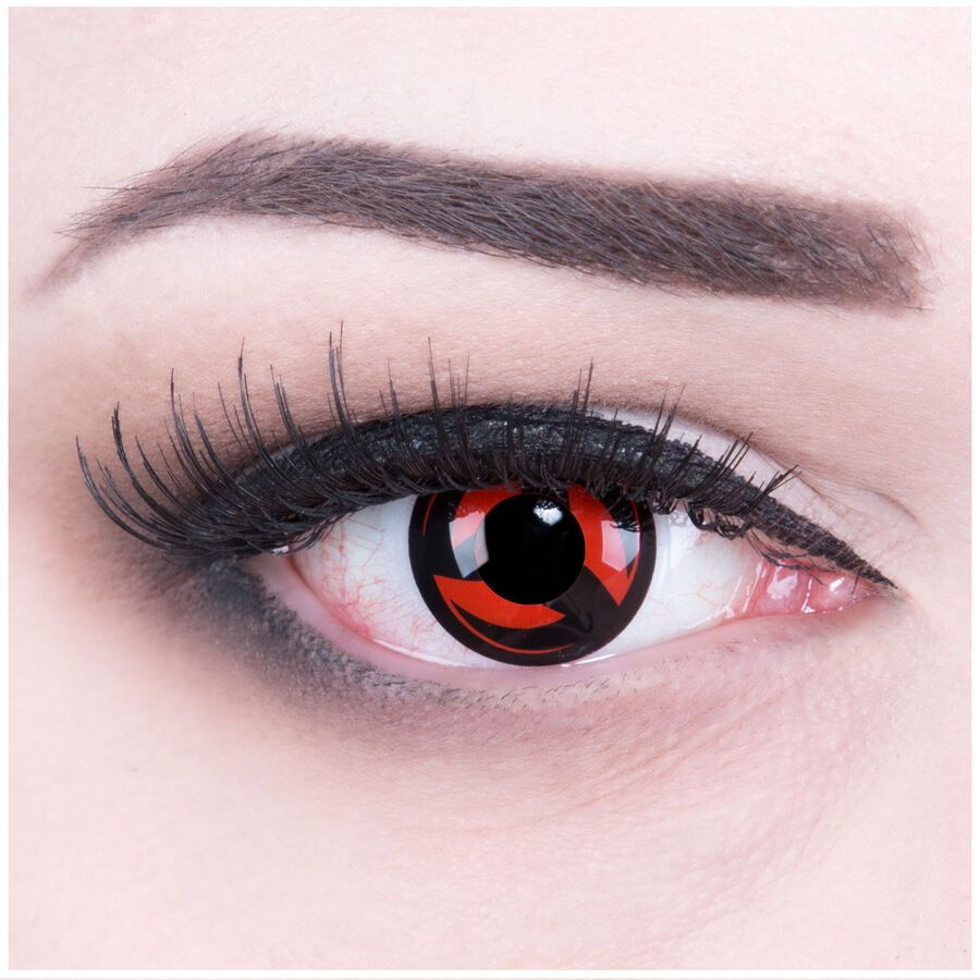 Details about coloured contact lenses anime sharingan