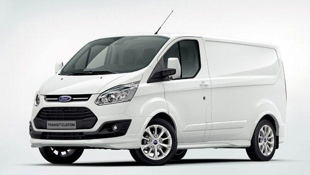 Ford Introduces Cargo Van Version Of Transit Custom Transit