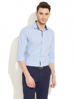 40e3331f Light blue shirt with dark blue pant Blue Pants Outfit, Navy Blue Dress  Pants,