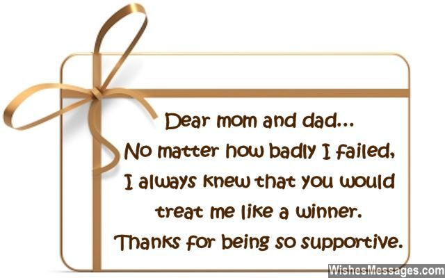 thank you notes for parents messages mom and dad sms text single day - sample mom thank you letter