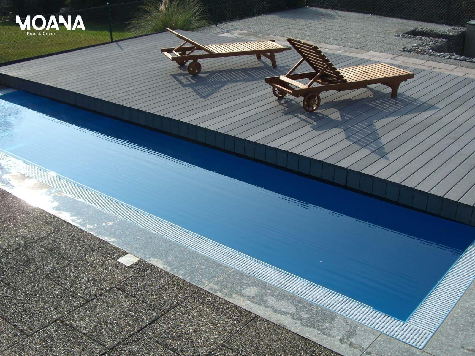Pooldeck Terrace die begehbare Schwimmbadabdeckung