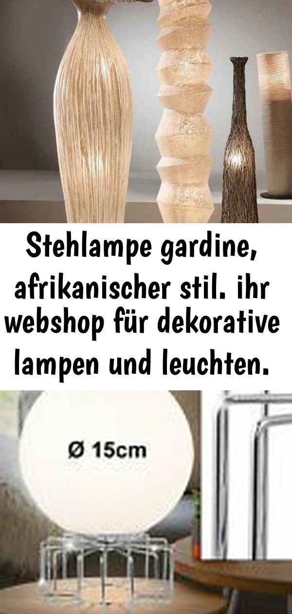 Stehlampe gardine, afrikanischer stil. ihr webshop für dekorative lampen und leuchten. #afrikanisc 6 #afrikanischerstil