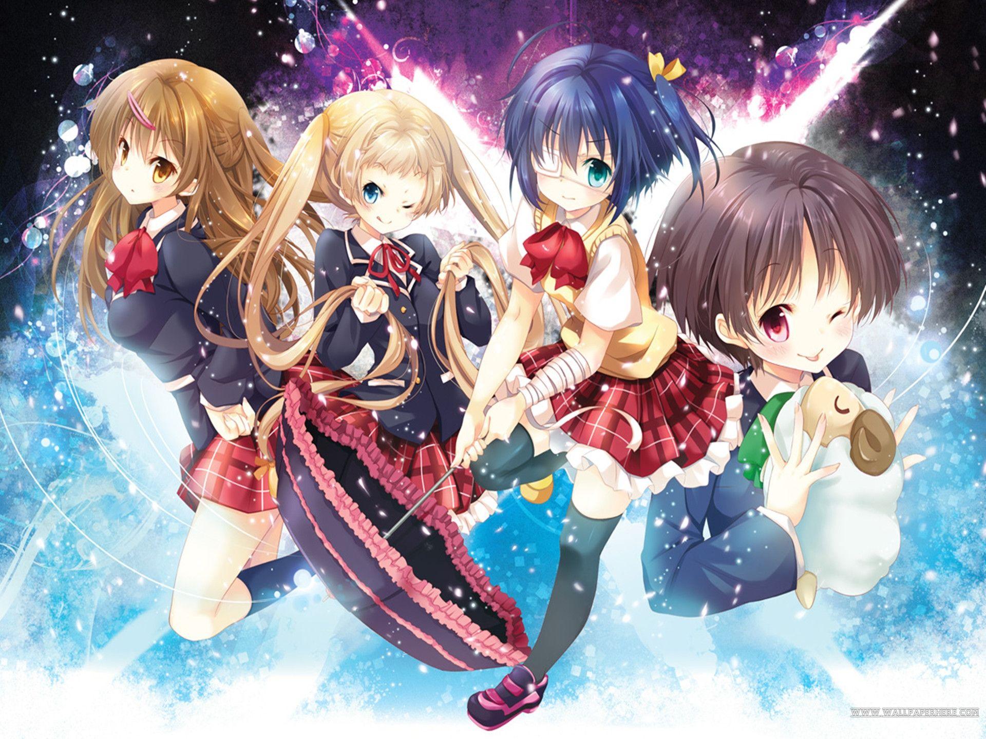 Chunibyō Demo Koi Ga Shitai Fondos De Pantalla Fondos De Escritorio 1920x1440 Id 514142 Anime Arte De Personajes Koi