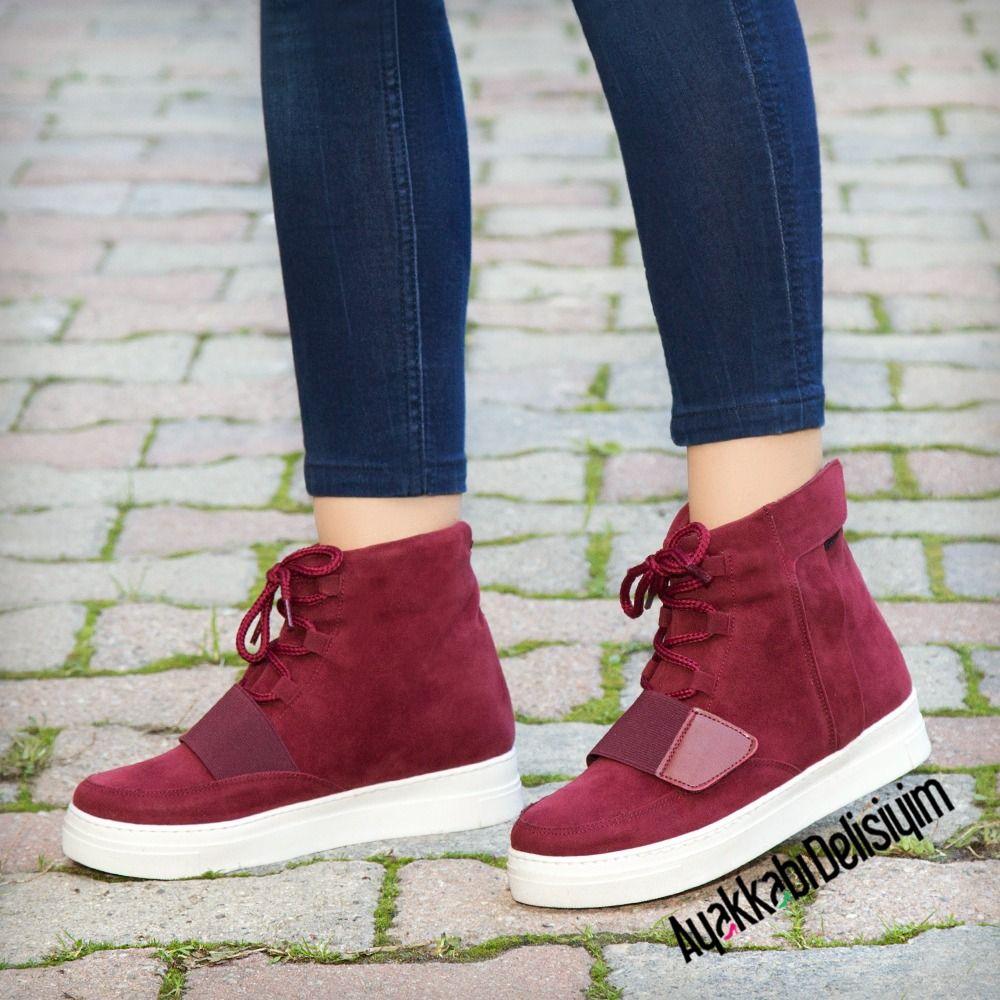 Bordo Sneaker #red #sport #shoes