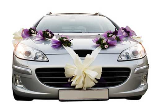 Wedding car decorations purple themed floral corsages wedding wedding car decorations purple themed floral corsages junglespirit Choice Image