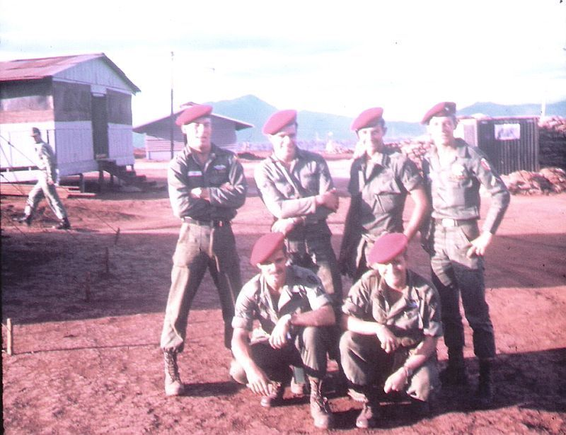 LRRP members, 25th Infantry Division | Vietnam war | Vietnam