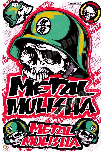 Logo De Metal Mulishaa Buscar Con Google Metal Mulisha Skull Wallpaper Motorcycle Artwork