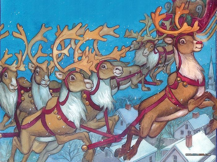 Christmas Movies wallpaper called Rudolph The Red-Nosed Reindeer