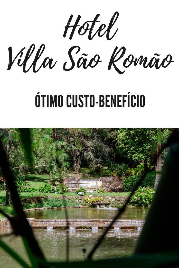 Mal janeiro (2016) começou, meu marido e eu já estávamos passando 3 diárias no Hotel Villa São Romão em Lumiar. Foi a nossa primeira vez e a-do-ra-mos!