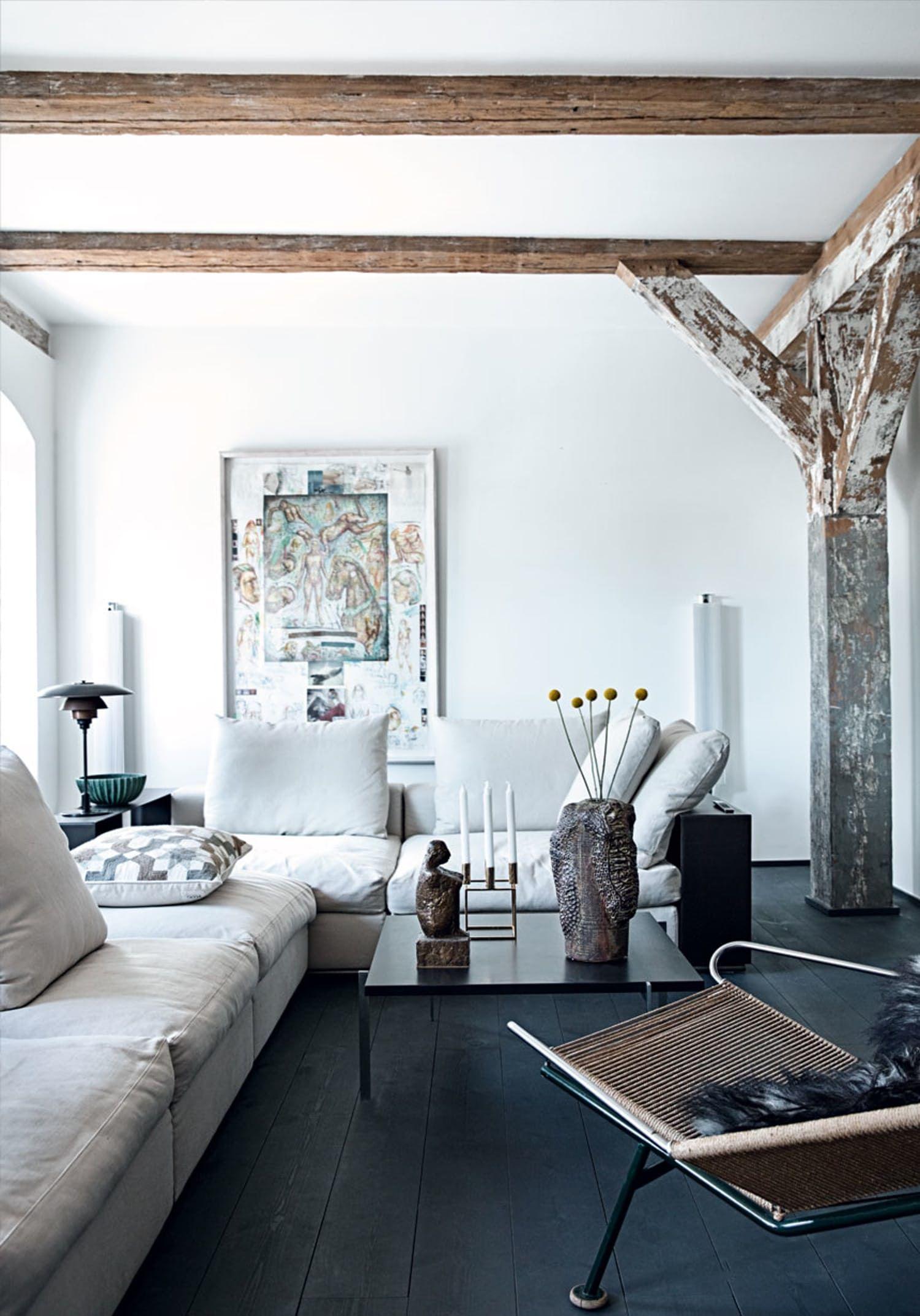 Moderne Flexform-sofa i dagligstuen | t O w n h O u s e◻️t O ...