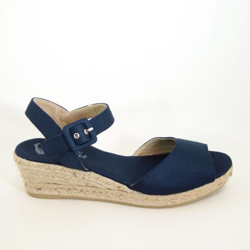 078dec26d8 PASEART Navy Low Wedge Espadrille in 2019 | Interesting Pins | Low ...