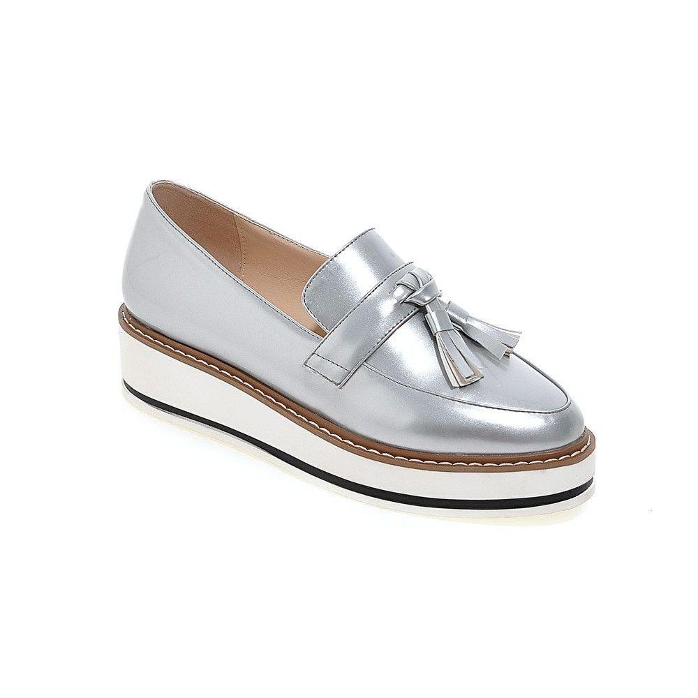 Señorita Platform Tassel Wedges Zapatos Zapatos Loafers   Zapatos, Zapatos Wedges d99bc3