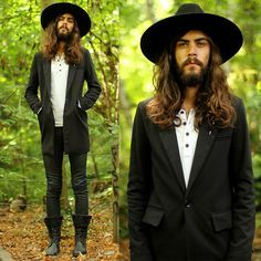 hats for men with long hair - Google Search  4e6c86b6d2c