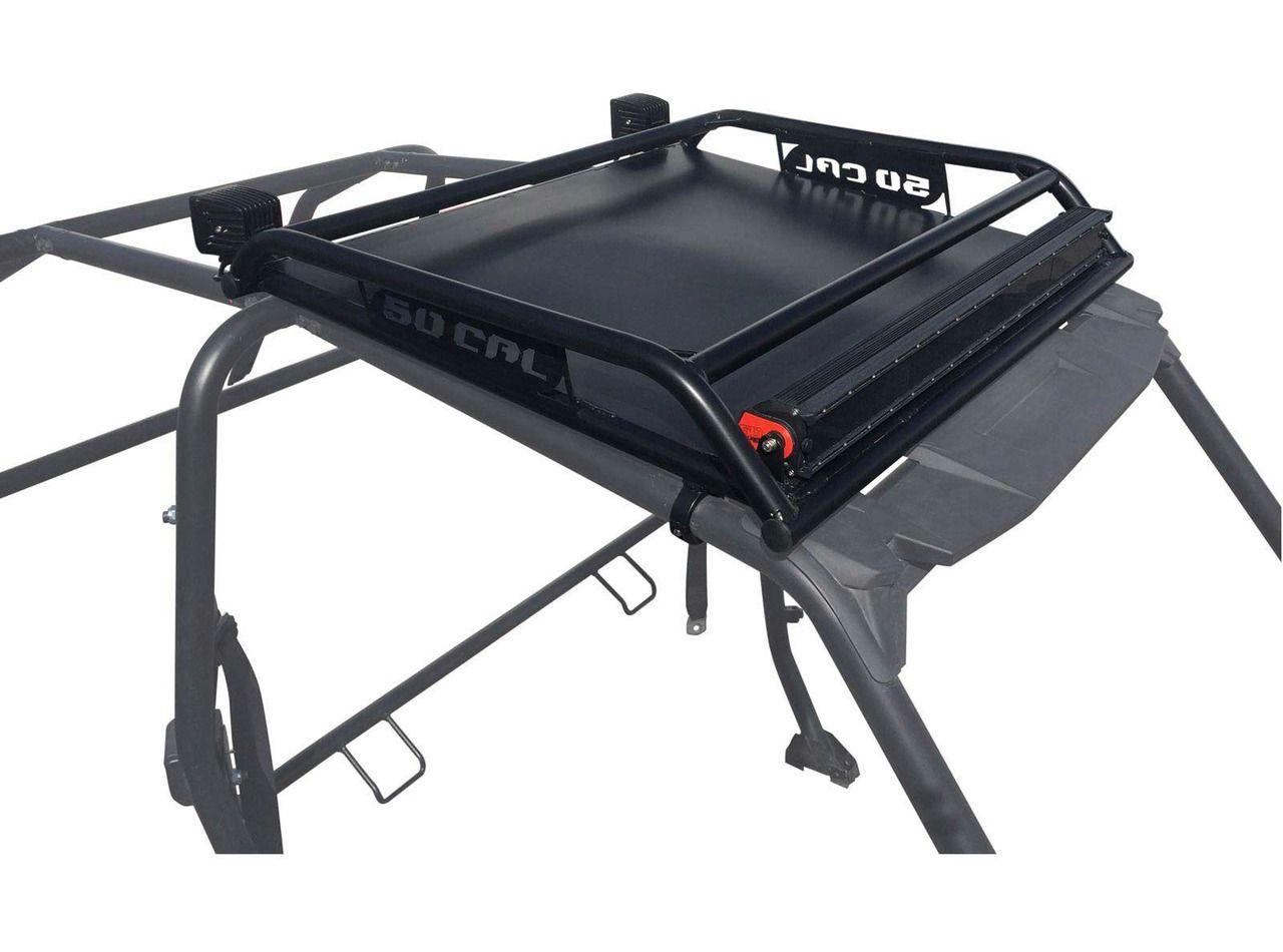 50 Caliber Polaris RZR Xp 4 Custom Roof Rack Crawltech