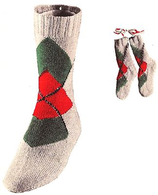 Diamond Overlay Argyle Socks #7236 | Argyle socks, Sock ...