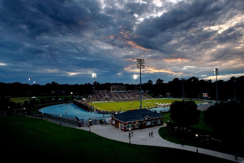 Pomoco Stadium at Christopher Newport University. (With
