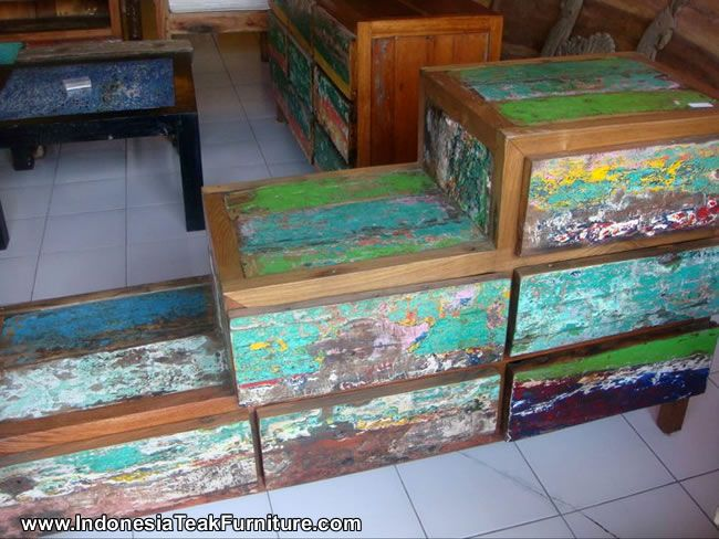 Cab2 1 Reclaimed Boat Wood Furniture Bali Drawers