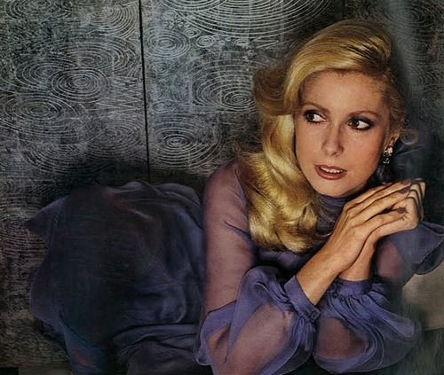Catherine Deneuve by Guy Bourdin for Vogue Paris, 1973.